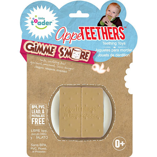 Little Toader AppeTEETHERS Teething Toy - Gimme S'more Teether