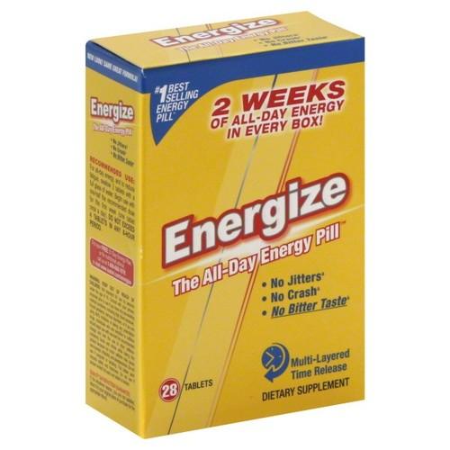 Isatori Energize, Tablets, 28 tablets