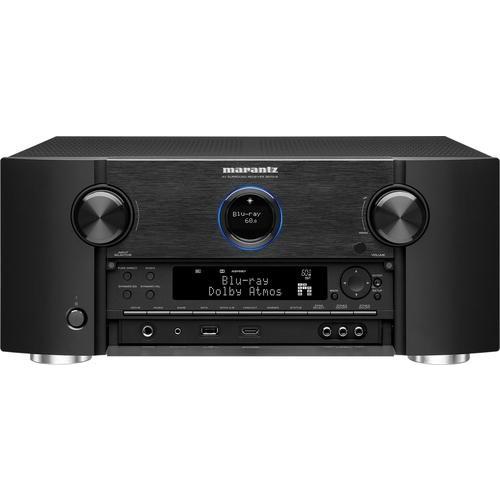 Marantz - SR 9.2-Ch. Hi-Res With HEOS 4K Ultra HD A/V Home Theater Receiver - Black