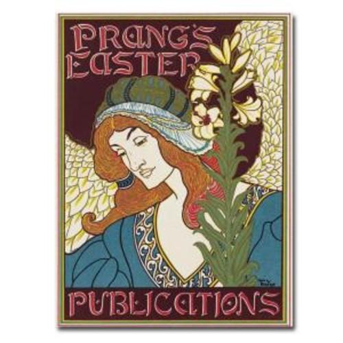 Trademark Fine Art 22 in. x 32 in. Prangs Easters Publications 1896 Canvas Art