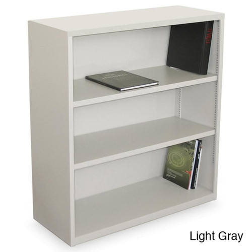 Marvel Book & Display Cases Ensemble 3-shelf Bookcase [option : Charcoal]