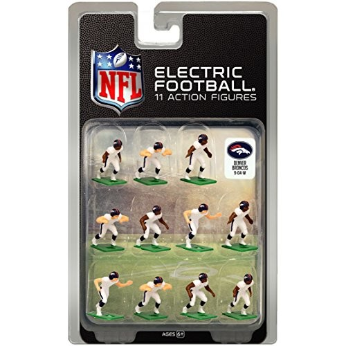 Tudor Games Denver Broncos White Uniform NFL Action Figure Set