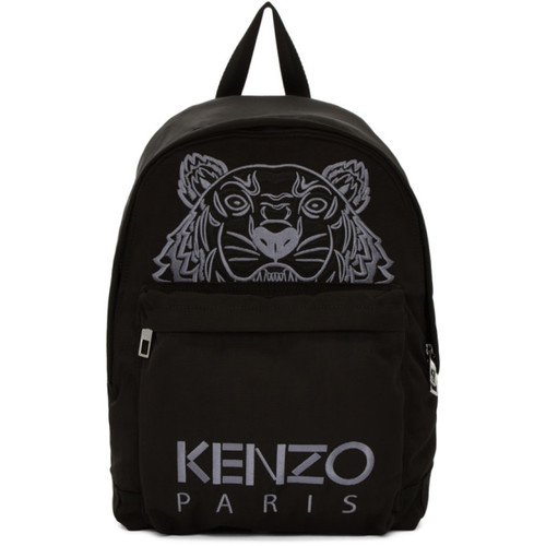 Black Tiger Icon Backpack
