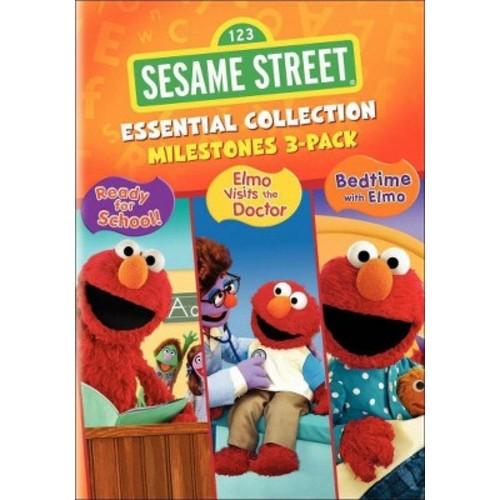 Sesame Street Essential Collection: Milestones (3 Discs) (dvd_video)