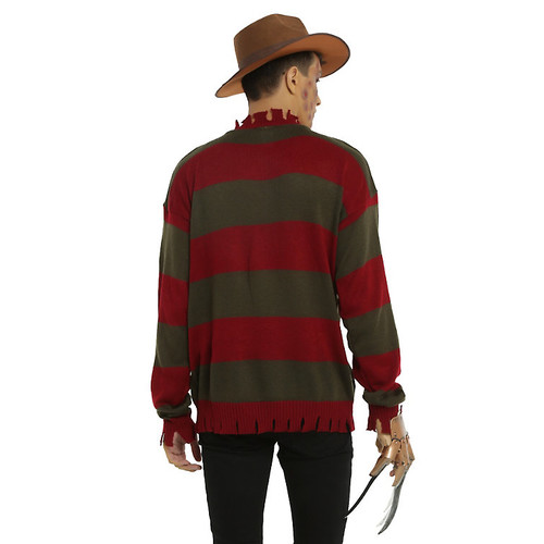 A Nightmare On Elm Street Freddy Krueger Costume Sweater