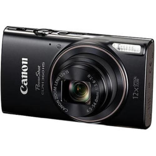 PowerShot ELPH 360 HS Digital Camera (Black)