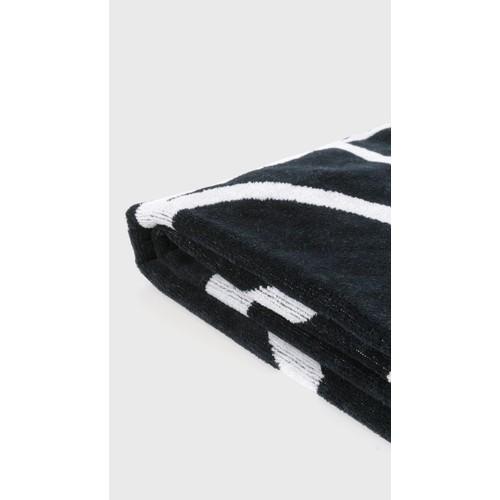 Navy Biarritz Beach Towel