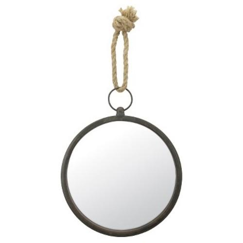 Small Round Nautical Wall Mirror