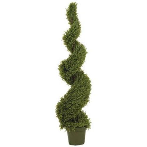 Nearly Natural 5' Rosemary Spiral Silk Tree (In-door/Out-door)