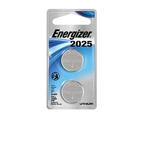 Energizer Lithium Coin Watch/Electronic Battery 2025, 2-Count