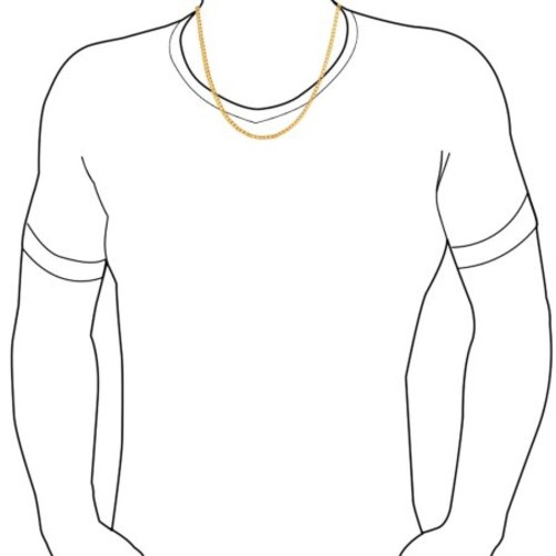 Bling Jewelry Mens Gold Plated Box Chain Necklace
