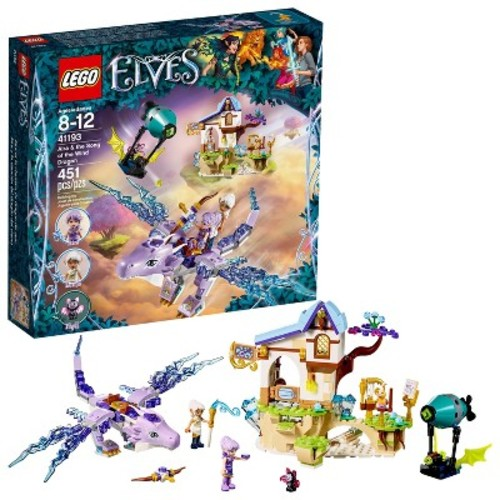 LEGO Elves Aira and the Song of the Wind Dragon (41193)