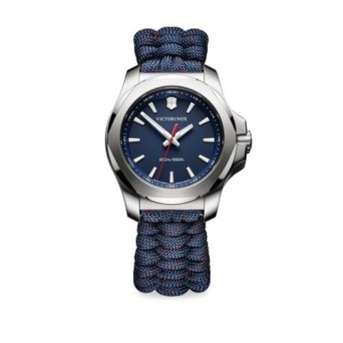 I.N.O.X. Paracord Bracelet Analog Watch