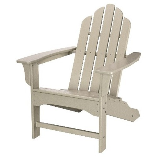 All-Weather Contoured Adirondack Chair - Gray - Hanover