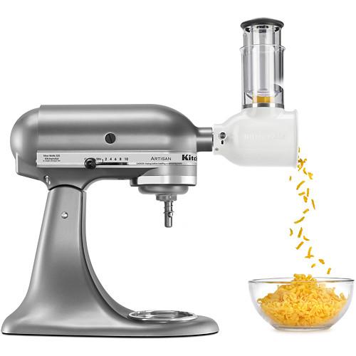 KitchenAid - KSMVSA Fresh Prep Slicer/Shredder Attachment for KitchenAid Stand Mixers - Multi