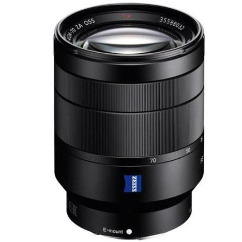 Sony 24-70mm f/4 Vario-Tessar T* FE ZA OSS, Full Frame, E-Mount NEX Camera Lens SEL2470Z