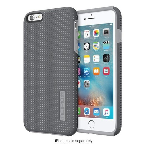 Incipio - DualPro Highwire Hard Shell Case for Apple iPhone 6 Plus and 6s Plus - Gray