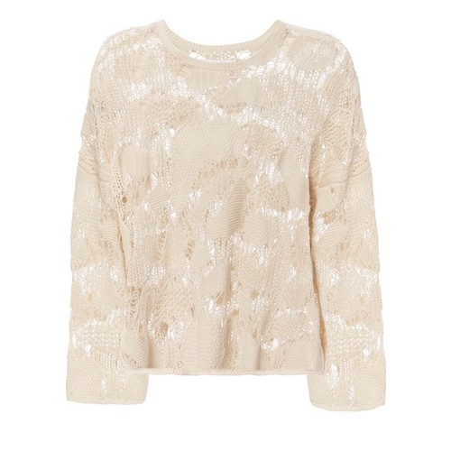 SEE BY CHLOÉ Open Work Knitted Top