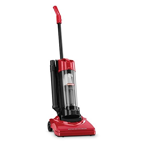 Dirt Devil Vacuum Cleaner Dynamite Plus Corded Bagless Upright Vacuum with Tools M084650 RED