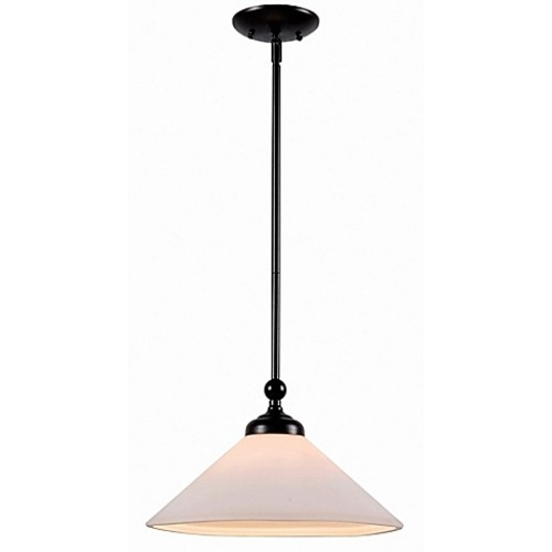Kenroy Home Conical 1-Light Pendant in Oil Rubbed Bronze
