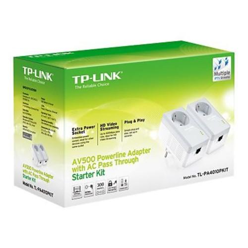 TP-LINK TL-PA4010P KIT Powerline Network Adapter Kit