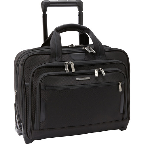Briggs & Riley Medium Expandable Rolling Laptop Brief