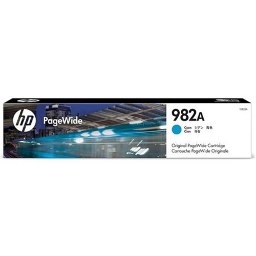 HP 982A Cyan Original PageWide Cartridge for 765DN, MFP 780DN and 785Z Printers