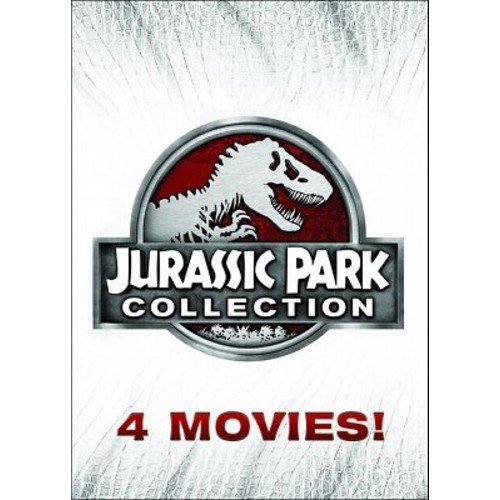 Jurassic Park Collection - 4 Movies, Including Jurassic World (DVD)