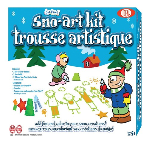 Ideal Sno Toys Sno-Art Kit [Red, None]
