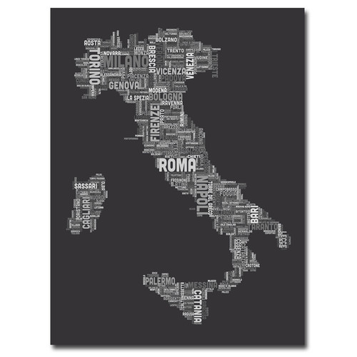 Trademark Global Michael Tompsett 'Italy V' Canvas Art [Overall Dimensions : 35x47]