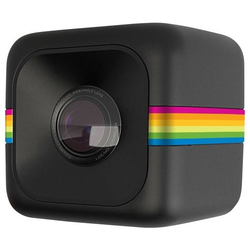 Polaroid - Cube Lifestyle HD Action Camera - Black