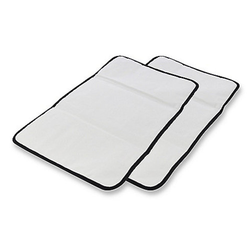 Obersee Baby Changing Mat 2-Pack in Black