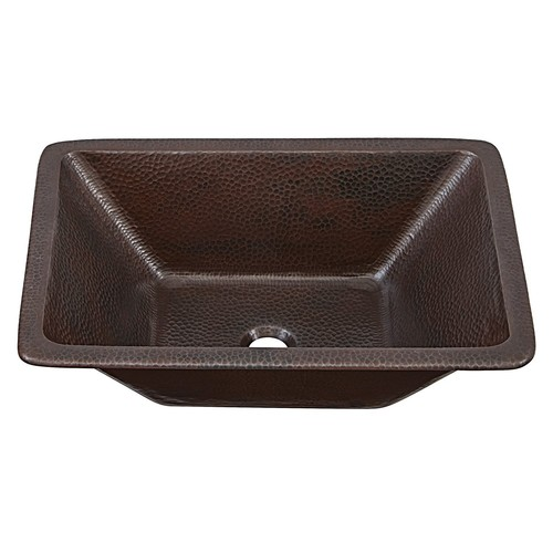 Sinkology SB205-20AG Hawking Handmade Dual Mount Bath Sink in Pure Solid, 20