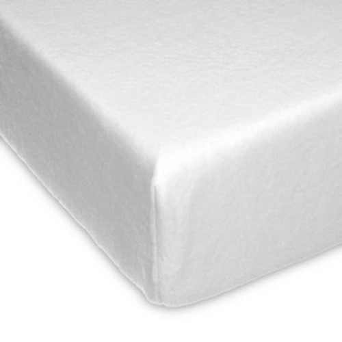 Glenna Jean Willow Softee Fitted Crib Sheet in White