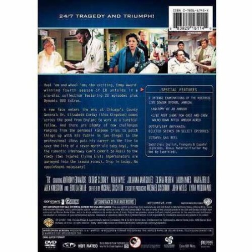 ER: The Complete Fourth Season (Widescreen)
