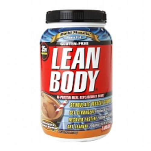 Labrada Nutrition Gluten-Free Lean Body Hi-Protein Meal Replacement Shake Chocolate Peanut Butter 39.52oz.