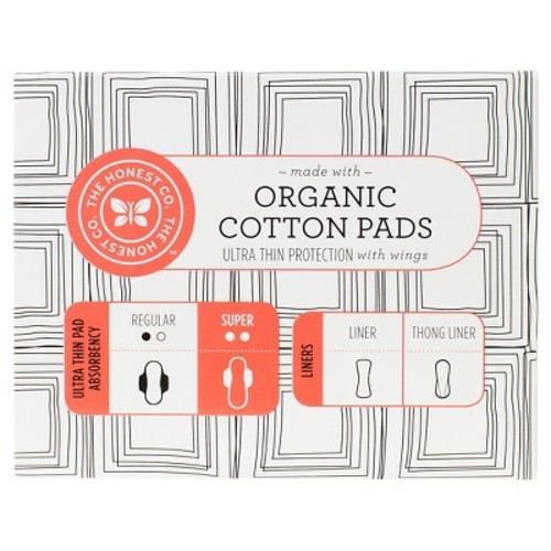 Honest Company Super Organic Cotton Pads - 10 Ct