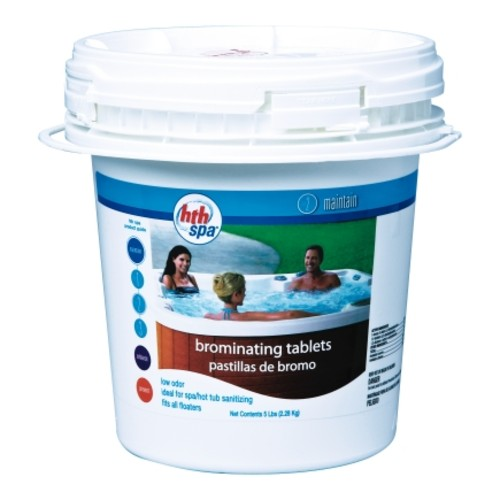 HTH 5Lb Bucket Spa Brominating Tablets (86105)