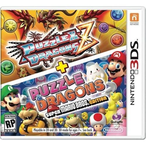 Puzzle & Dragons Z and Puzzle & Dragons: Super Mario Bros. Edition (Nintendo 3DS)