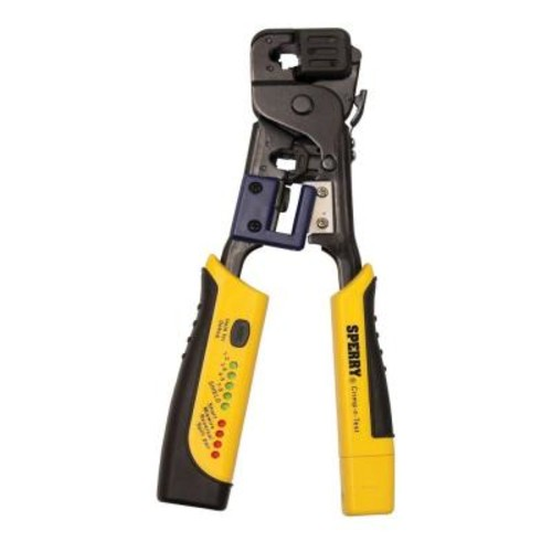 Gardner Bender Crimp-n-Test RJ45 Crimper and Tester