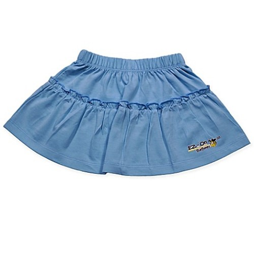 EZ-On BaBeez Newborn Ruffled Skirt in Aqua