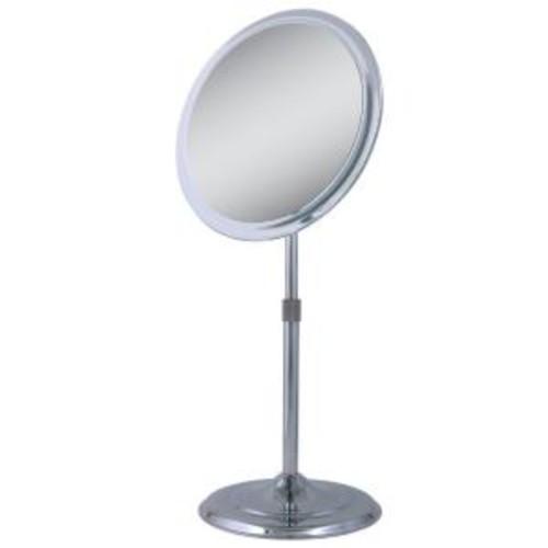 Zadro 9.5 in. x 15.5 in. Telescoping Vanity Mirror in Chrome