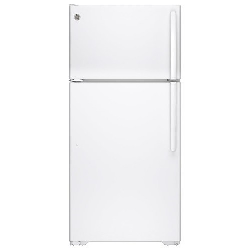 GTE15CTHLWW 14.6 cu. ft. Top-freezer Refrigerator - White