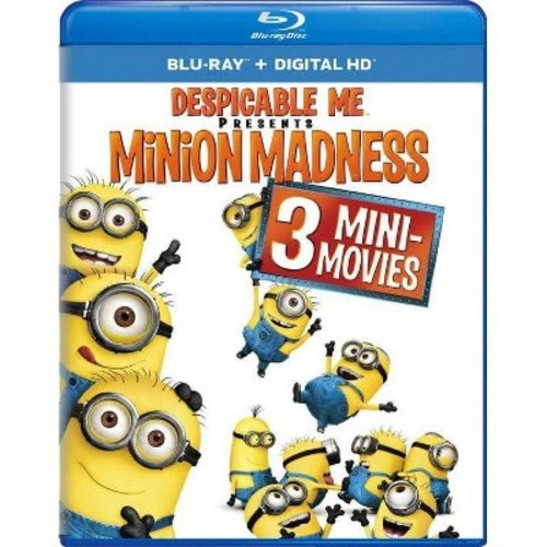 Despicable Me Presents: Minion Madness Blu-Ray Combo Pack (Blu-Ray/Digital HD)