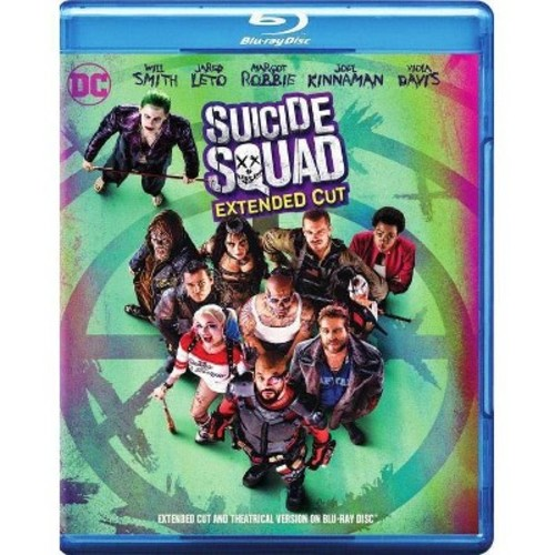 Suicide Squad Extended Cut Blu-Ray Combo Pack (DVD/Blu-Ray/Digital HD)