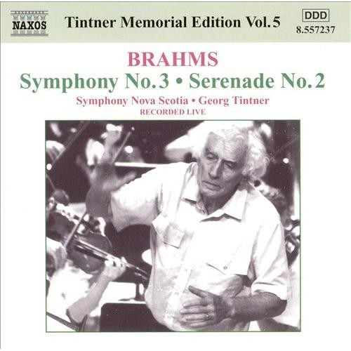 Brahms: Symphony No. 3; Serenade No. 2 [CD]