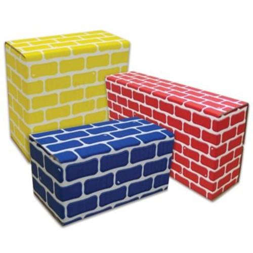 Edushape 84-Piece Corrugated Blocks