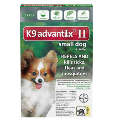 Advantix II for Dogs Between 11-20 lbs 6 Month Supply