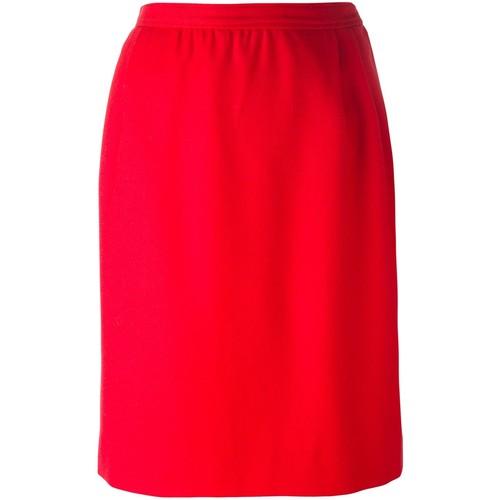 YVES SAINT LAURENT VINTAGE Knee Length Skirt