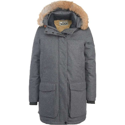 WOOLRICH Womens Wool Face Patrol Down Parka